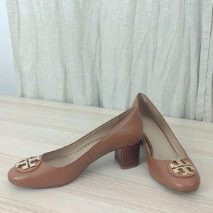Tory Burch Janey 85mm pump leather heels